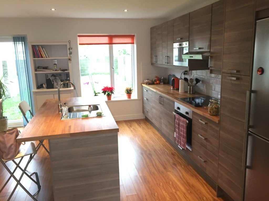 Ground Floor Refurbishment Of 3 Bed Semi Detached House Aidan Kelly Construction Limited