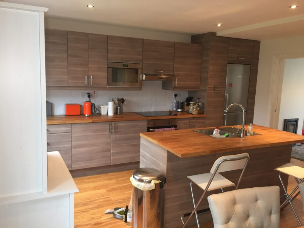 Ground Floor Refurbishment Of 3 Bed Semi Detached House Aidan
