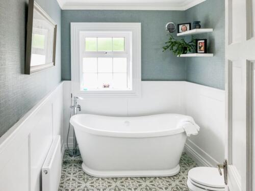 Carlow Bathroom Renovation Freestanding Bath