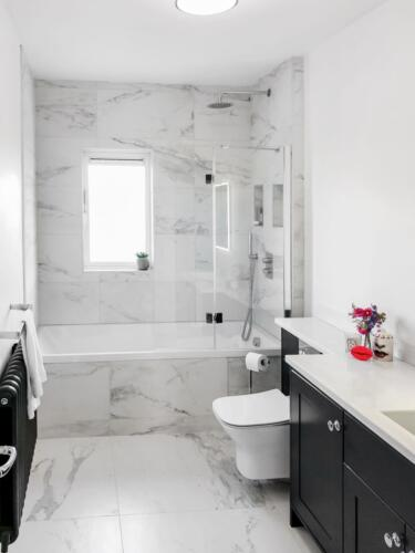 Light and bright Wexford Bathroom Renovation