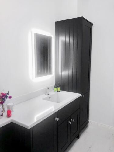 Wexford bathroom refurbishment bespoke vanity unit